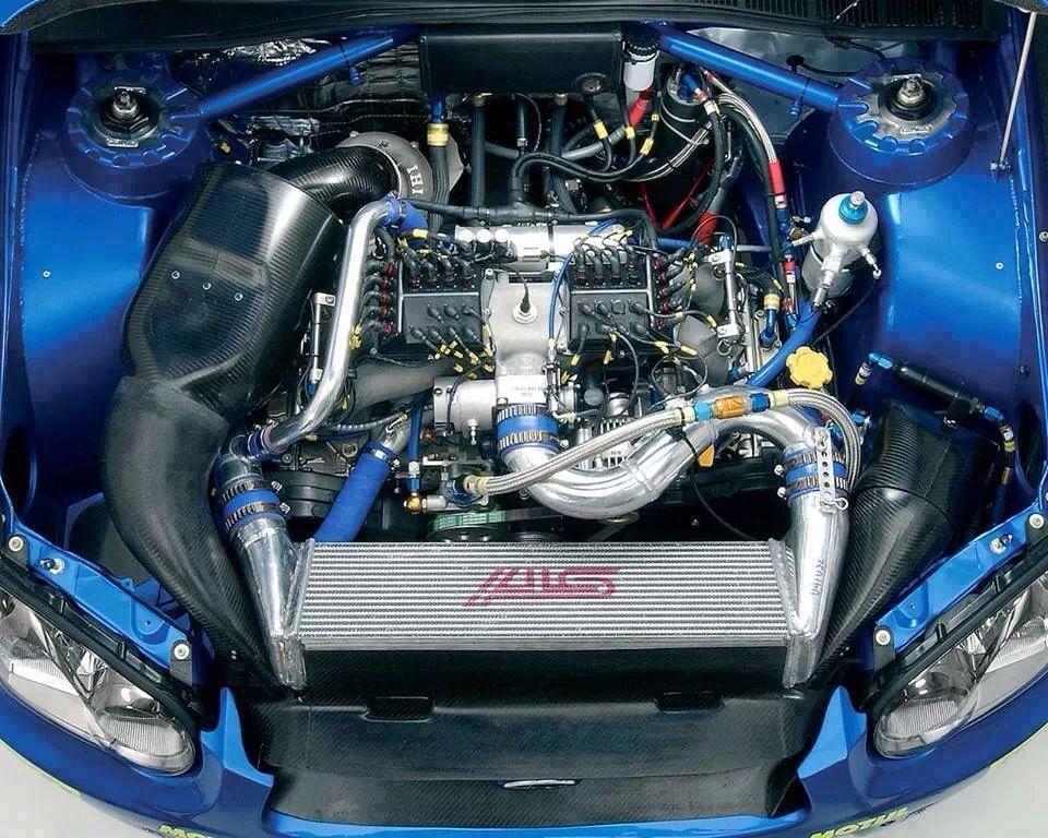 Préparation moteur pour rallye